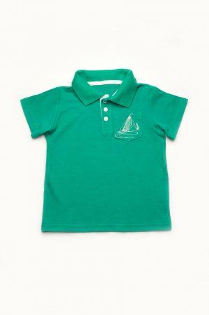 детская футболка поло с воротником для мальчика