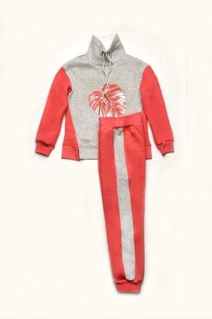 спортивный костюм утепленный для девочки недорого