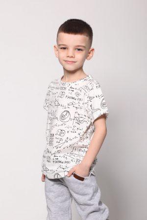 Детская футболка для мальчика Математика