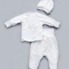 Велюровый комплект для новорожденного