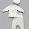 Велюровый комплект для новорожденного малыша