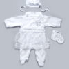 Комплект нарядный для новорожденной девочки