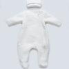 Комбинезон для новорожденного с шапочкой