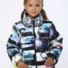 Куртка демисезонная для девочки 'Граффити'