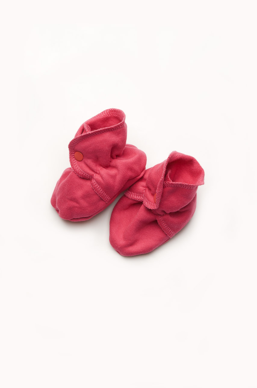 Пинетки ботиночки трикотажные утепленные